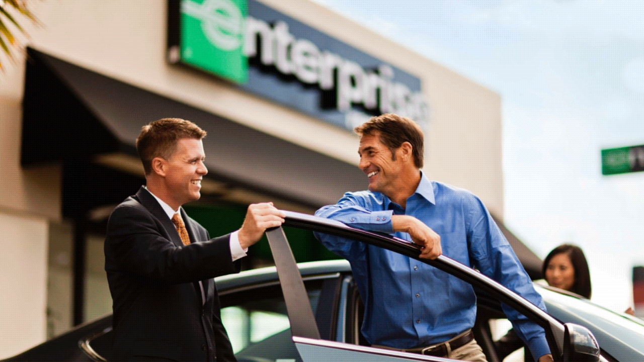 Enterprise Car Pick Up