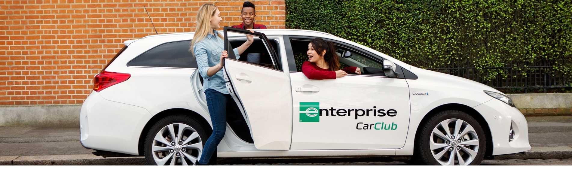 Enterprise Car Club - Hourly Vehicle Hire