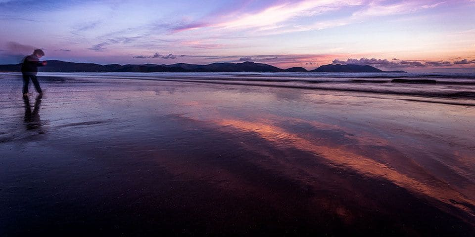 Inch Beach at sunrise, Image credit: Donncha O Caoimh