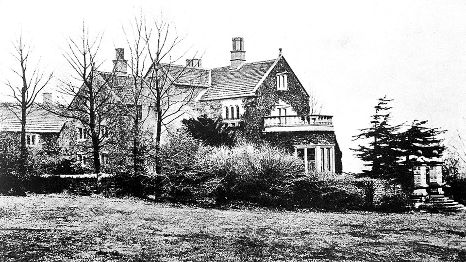 Florence Nightingale's Home at Lea Hurst