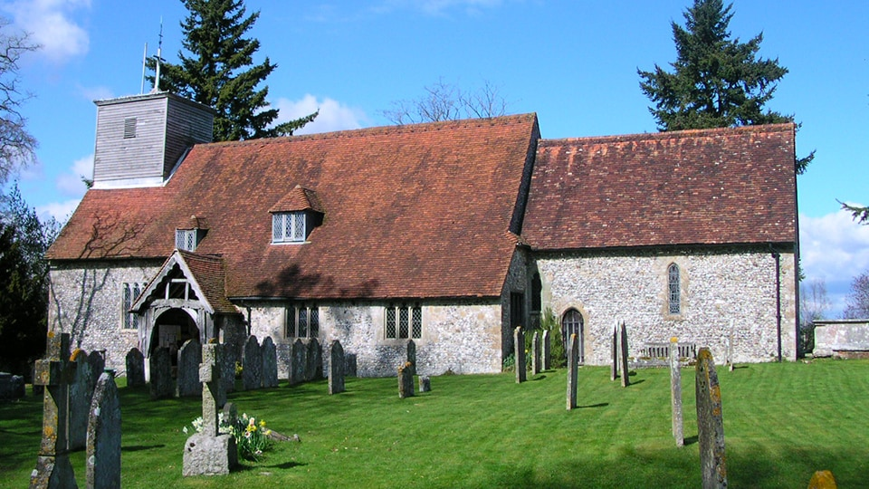 Wellow Church in Hampshire
