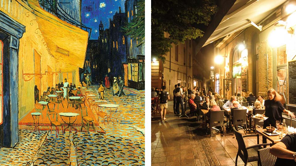 Where did van gogh enterprise inspiration enterprise for Van gogh paintings locations